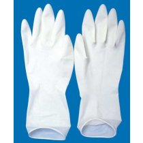 SK Latex surgical hand gloves sterile 16 gm Size 6.5, 7, 7.5, As per ISI, CE (Packing 1 pair)